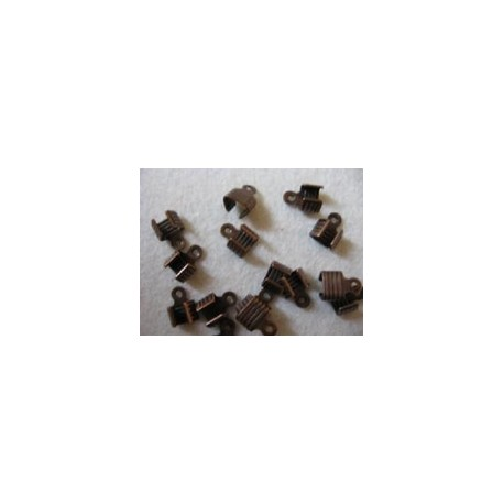 Veterklemmen 3 mm roodkoperplated (500 stuks)