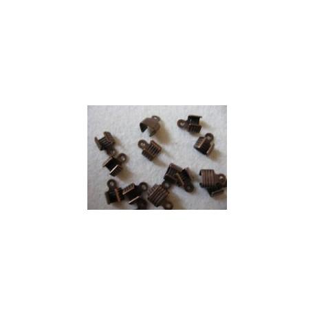 Veterklemmen 3 mm roodkoperplated (1000 stuks)