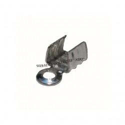 Veterklemmen 5 mm staalplated (100 stuks)