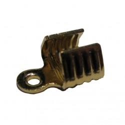 Veterklemmen 5 mm goudplated (100 stuks)