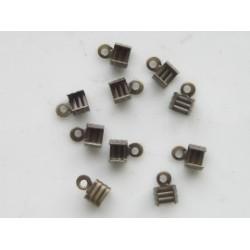 Veterklemmen 5 mm bronsplated (100 stuks)
