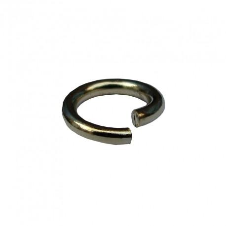 Ringetjes (open), 5 mm goudplated (100 stuks)
