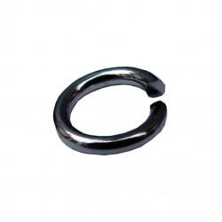 Ringetjes (open), 7 mm staalplated (1000 stuks)