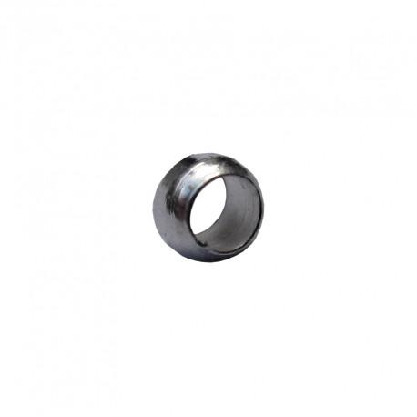 Knijpkralen 2 mm zilverplated