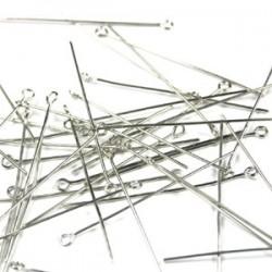Kettelstiften 20 mm staalplated (1000 stuks)