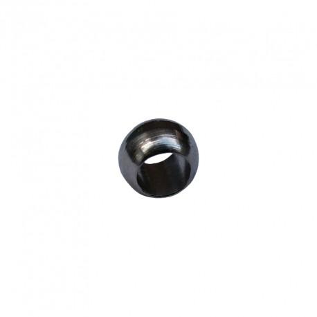 Knijpkralen 2 mm staalplated