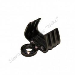 Veterklemmen 5 mm blackplated (100 stuks)