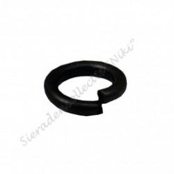 Ringetjes (open), 12 mm bronsplated (100 stuks)